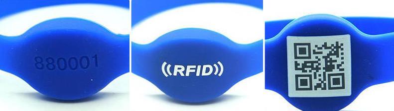 печать на rfid браслетах с чипом